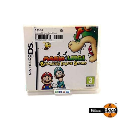Nintendo DS Game: Mario & Luigi Bowser's Inside Story