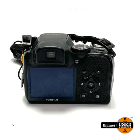 FujiFilm Finepix S8100FD Camera