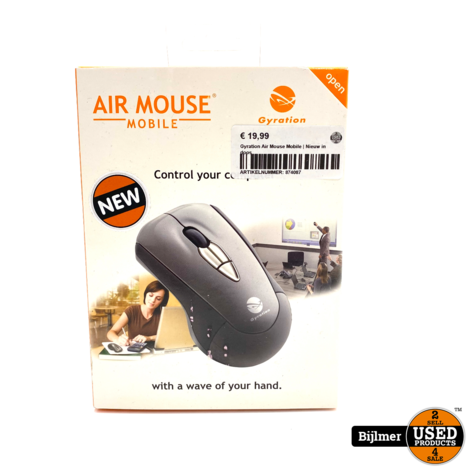 Gyration Air Mouse Mobile | Nieuw in doos