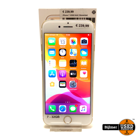 iPhone 7 32GB Gold | Nieuwstaat