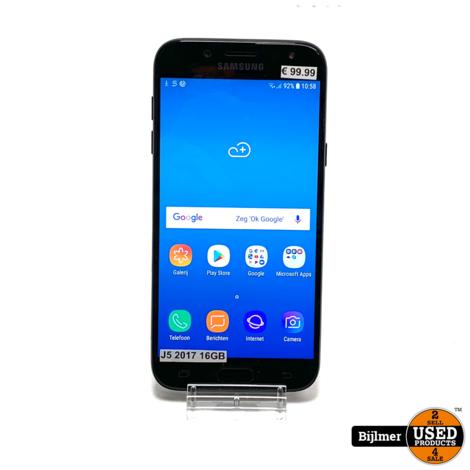 Samsung Galaxy J5 2017 16GB Black | Nette staat