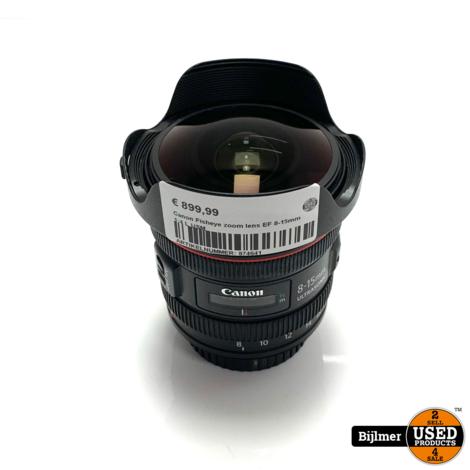 Canon Fisheye zoom lens EF 8-15mm 1:4 L USM