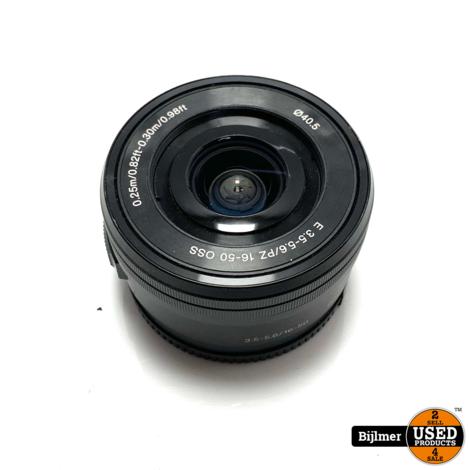 Sony E 16-50mm f/3.5-5.6 PZ OSS objectief Zwart | Nette staat