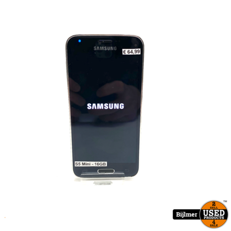 Samsung Galaxy S5 Mini 16GB Zwart