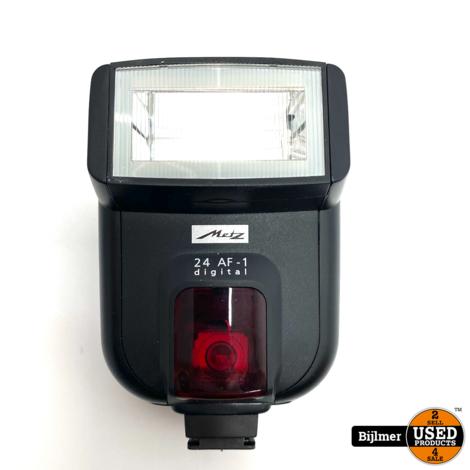 Metz Mecablitz 24 AF-1 Digital Flitser voor Canon | Nette staat