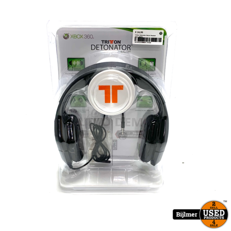 Tritton Detonator Stereo Headset Xbox 360/PC