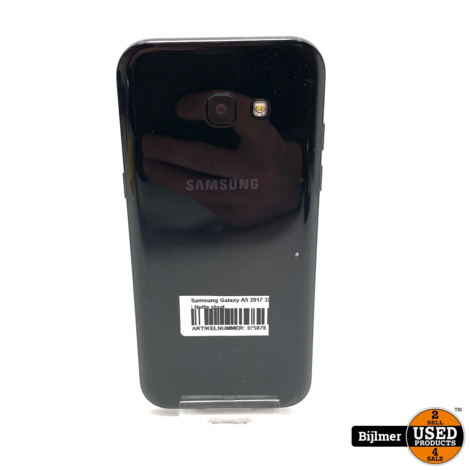 Samsung Galaxy A5 2017 32GB Black | Nette staat