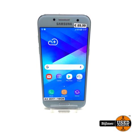 Samsung Galaxy A3 2017 Lichtblauw 16GB