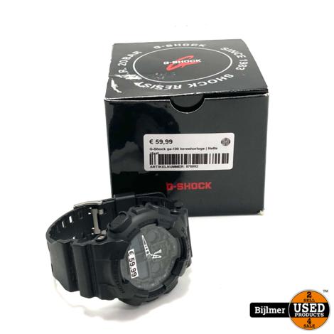 G-Shock GA-100 herenhorloge   Nette staat