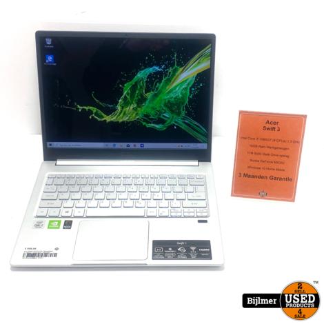 Acer Swift 3 SF313-52G i7-1065G7 16GB Ram 1TB SSD   Nieuwstaat