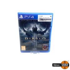 Playstation 4 Game: Diablo 3 Reaper of Souls