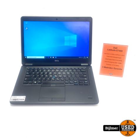 Dell Latitude E7450    i5-5300U 2.3GHz   12GB Ram   128GB SSD