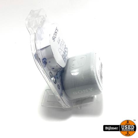 Sony SRSXB01R.CE7 Speaker Wit/Zilver | Nieuw