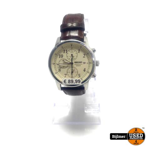 Seiko SNDC31P1 Herenhorloge | Let op klein wijzertje los