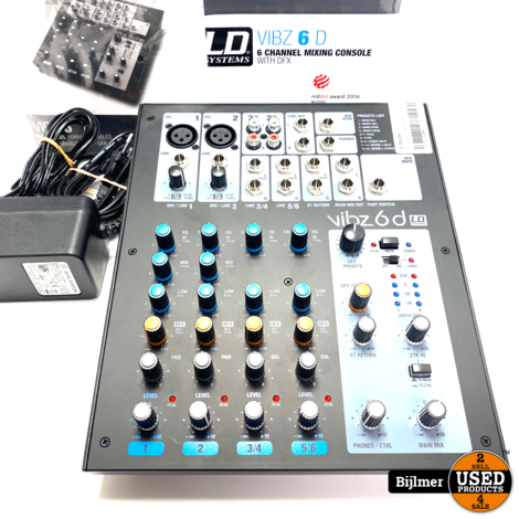 LD Systems VIBZ 6 | Nette staat