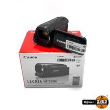 Canon Canon Legria HF R806 BK Zwart Camcorder | Nette staat
