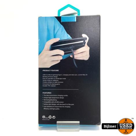 Gaming Data kabel Micro Usb   Nieuw