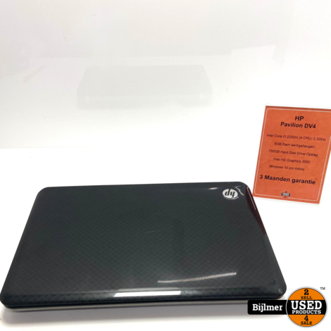 HP Pavilion DV4 i3 6GB 750GB HDD