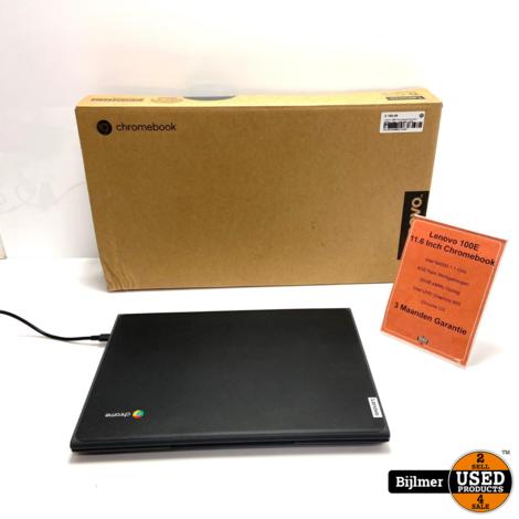 Lenovo 100E 2nd gen 11.6 Inch Chromebook |  N4000 1.1GHz - 4GB RAM - 32GB eMMc