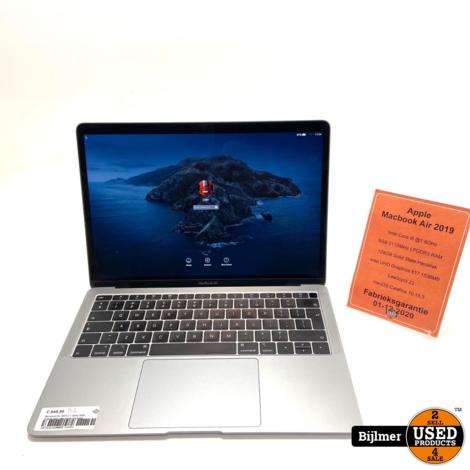 Macbook Air 2019 i5 1.6GHz 8GB 128GB SSD | Met Apple Garantie