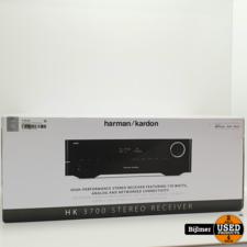 harman kardon Harman Kardon HK 3700 versterker Zwart | Nieuw