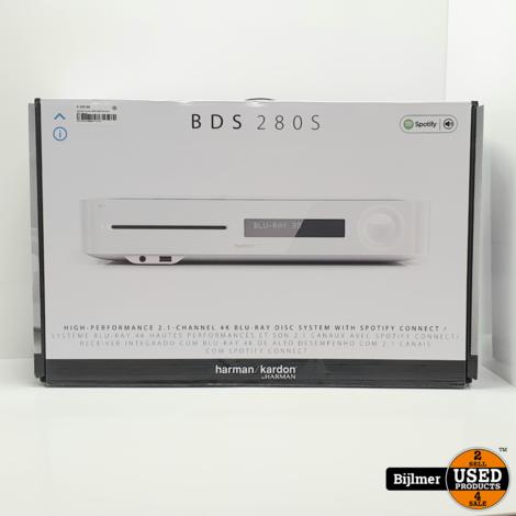 Harman Kardon BDS 280S Receiver Wit | Nieuw