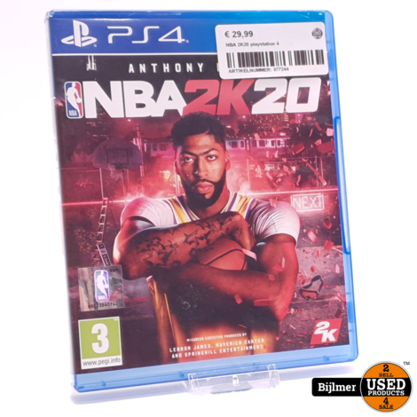 Playstation 4 Game: NBA 2K20