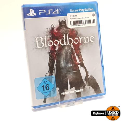 Playstation 4 Game: Bloodborne