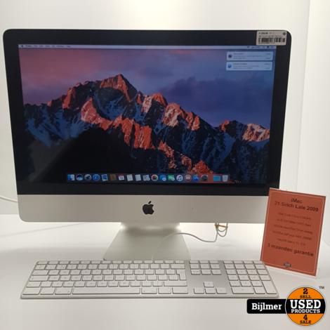 iMac 21.5 inch Late 2009 | Intel Core 2 Duo 3,06GHz | 4GB Ram | 500GB HDD