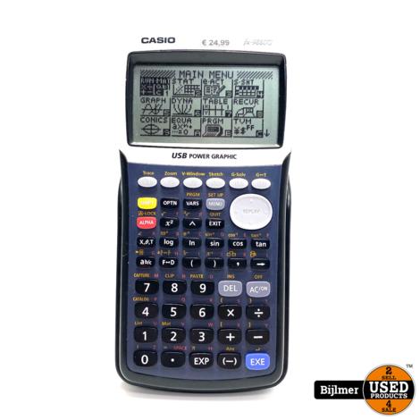 Casio FX-9860G Pocket Wetenschappelijke rekenmachine calculator