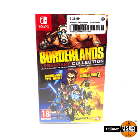 Nintendo Switch Game : Borderlands Legendary Collection