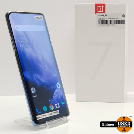 OnePlus 7 Pro 12GB/256GB Blue | Nette staat
