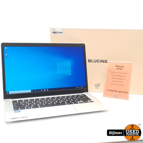Blueing N116 Laptop | Nieuw