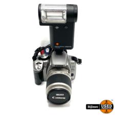 Eos EOS 350D Spiegelreflexcamera + Agfatronic 222CS Flitser
