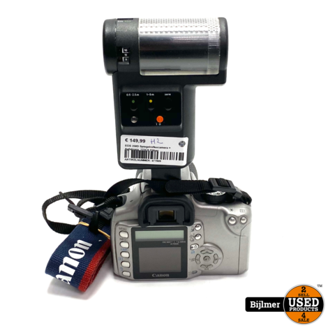 EOS 350D Spiegelreflexcamera + Agfatronic 222CS Flitser