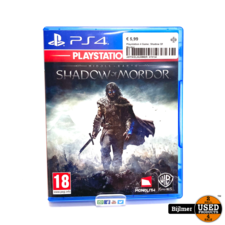 Playstaion Playstation 4 Game: Shadow Of Mordor