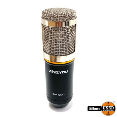 Zingyou - 800 Microphone Silver | Nette staat