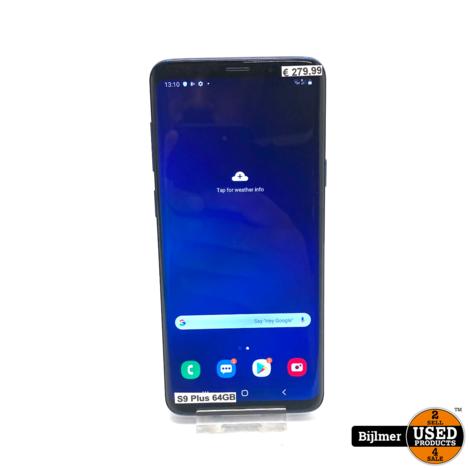 Samsung S9 Plus 64GB Blue