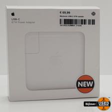 macbook Macbook USB-C 87W oplader | Nieuw