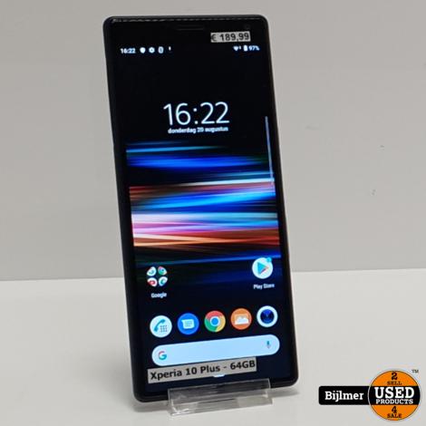 Sony Xperia 10 Plus (Dual Sim) 64GB Black | Nette staat