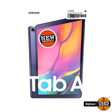 Samsung Galaxy Tab A 10.1 (2019) 32GB Wifi & 4G | Nieuw in seal