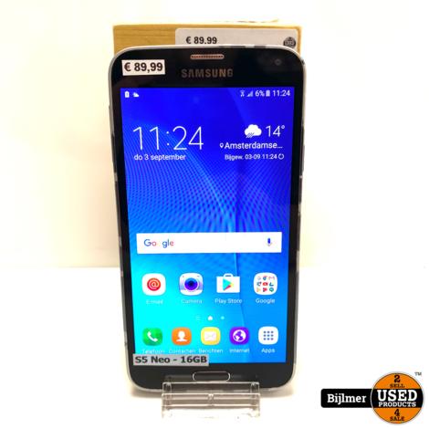 Samsung Galaxy S5 Neo Black