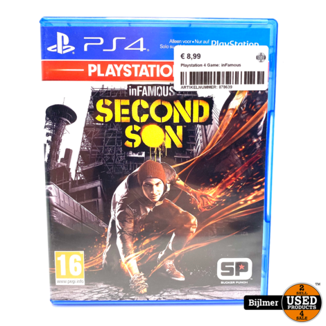 Playstation 4 Game: inFamous