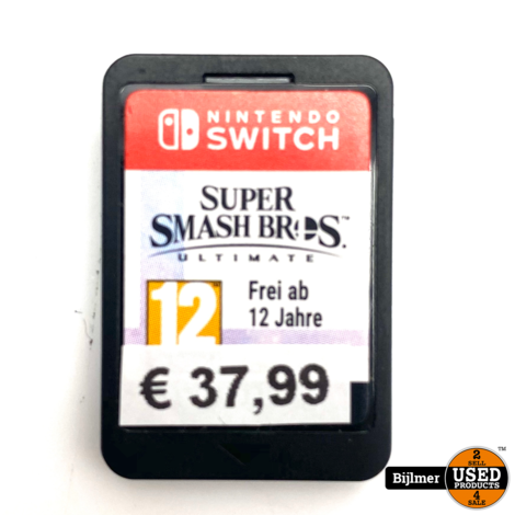 Nintendo Switch Game: Super Smash Brothers ( zonder hoes)