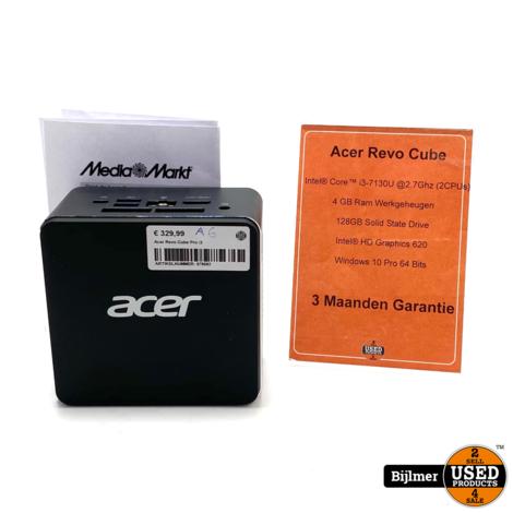 Acer Revo Cube Pro i3 4GB Ram 128GB SSD