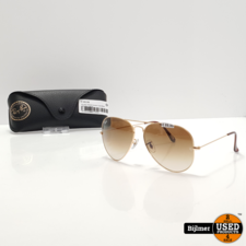 Ray-Ban Ray-Ban RB3026 Aviator Large Metal Zonnebril | Nieuw