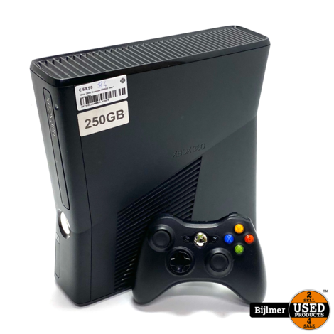 Xbox 360s Console 250GB met 1 Controller