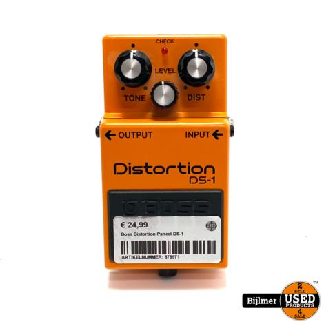 Boss Distortion Paneel DS-1 | Nette staat