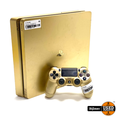 Playstation 4 Slim 500GB Gold Edition met 1 controller