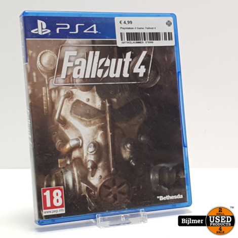 Playstatoin 4 Game: Fallout 4